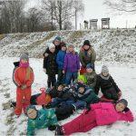 Zimní radovánky na sněhu ve ŠD